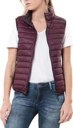 WAXX SHELTER DOWN VEST WOMENS FIG