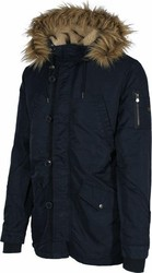 GARAGE FIFTY 5 MENS PARKA - GAM223-01217-NAVY