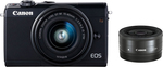 Canon EOS M100 Kit (EF-M 15-45mm f/3.5-6.3 IS STM + EF-M 22mm)