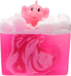 Bomb Cosmetics Pink Elephants & Lemonade Soap 100gr