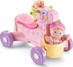 Fisher Price Pony Pink Musical Ride On