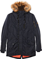 GARAGE 55 Ανδρικό Μπουφάν PARKA MEN'S JACKET (GAM223-01217-NAVY)