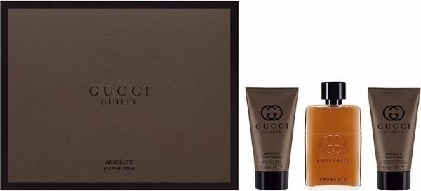 4a05f810c Προσθήκη στα αγαπημένα menu Gucci Guilty Absolute Pour Homme Eau de Parfum  50ml, Aftershave Balm 50ml & Shower Gel