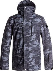 QUICKSILVER MISSION PRINTED SNOW JACKET EQYTJ03128-KVJ9