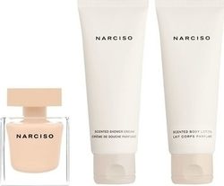 Narciso Rodriguez Narciso Poudree Eau de Parfum 50ml, Body Lotion 75ml & Shower Cream 75ml
