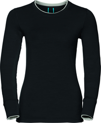 Odlo Warm Natural Merino LS Crew Neck 110411-15082