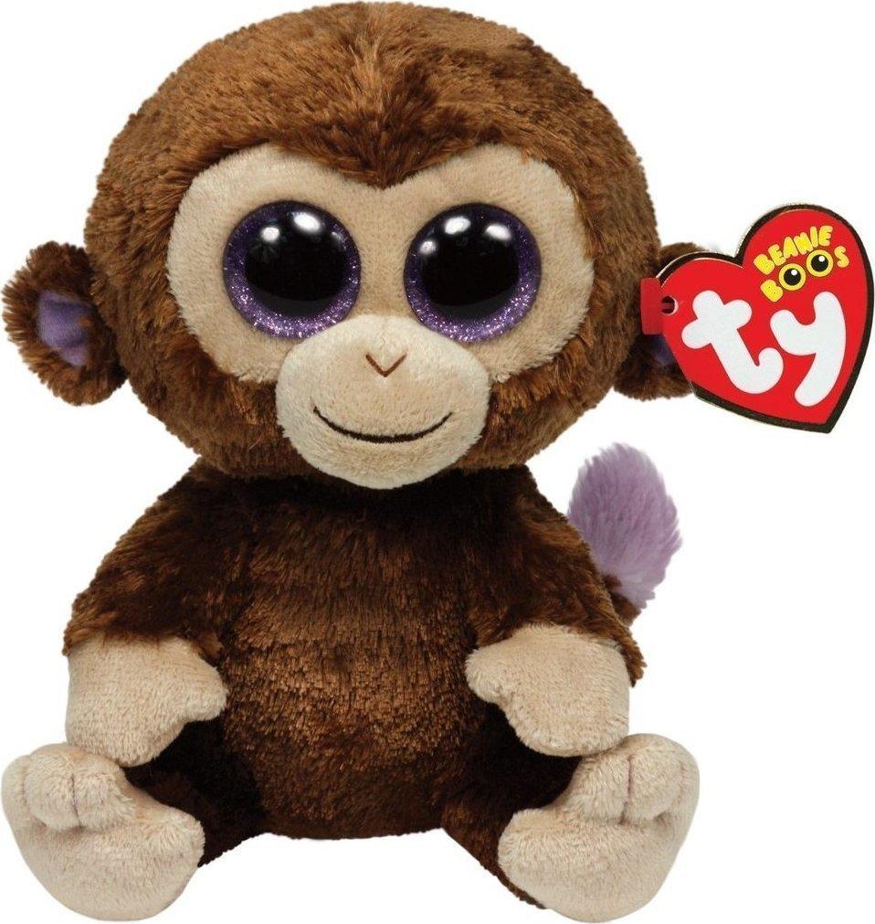 74c80affdb Ty Beanie Boos - Coconut Monkey Brown Plush Toy 15cm
