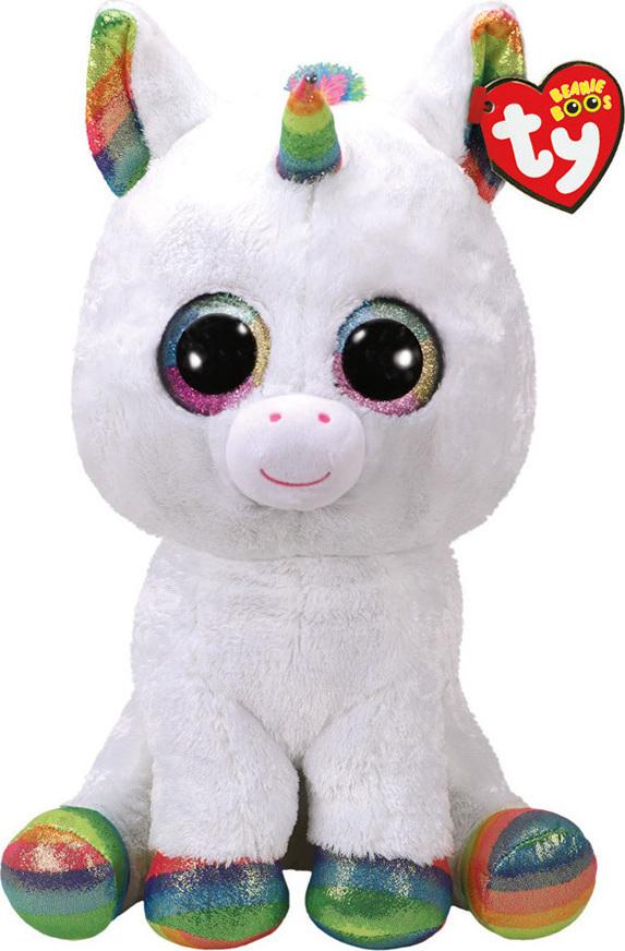 Προσθήκη στα αγαπημένα menu Ty Beanie Boos - Pixy White Unicorn Large 40cm 1d120f25dd9