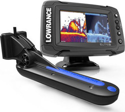 Lowrance Elite-5 Ti & TotalScan Transducer