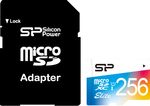 Silicon Power Elite microSDXC 256GB U1 with Adapter