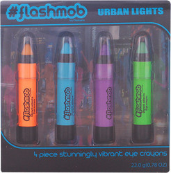 Markwins International Flashmob Urban Lights Eye Crayons Kit 4 Items