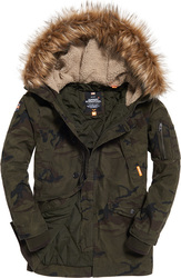 Superdry Rookie Heavy Weather Parka Hurricane Camo