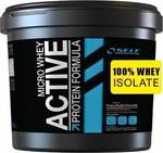 Self Omninutrition Micro Whey Active 4000gr Φυστικοβούτυρο Σοκολάτα