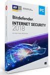 BitDefender Internet Security 2018 (3 Licences , 1 Year)