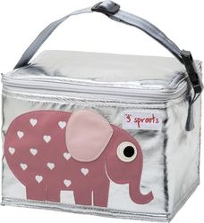 3 Sprouts Lunch Bag Elephant 0907-3SLBELE