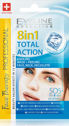Eveline Total Action 8 in 1 Many Problems One Ssolution SOS Peeling Mask 7ml