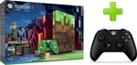 Microsoft Xbox One S 1TB & Minecraft Limited Edition & 2nd Controller