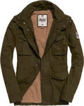 Superdry Rookie Heavy Weather Field Jacket Dark Khaki