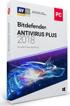 BitDefender Antivirus Plus 2018 (3 Licences , 1 Year)