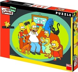The Simpsons 500pcs (50159) Dino