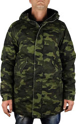 CAYLER & SONS DENIM PARKA HD17 03 WOODLAND CAMO