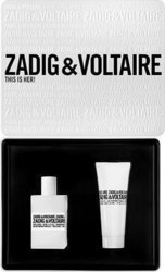 Zadig & Voltaire This Is Her Eau de Parfum 50ml & Scented Body Lotion 75ml