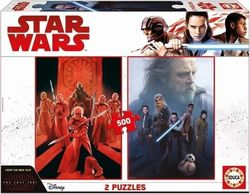 Star Wars: Episode Viii - The Last Jedi 500 & 500pcs (17464) Educa