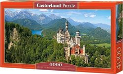 View Of The Neuschwanstein Castle, Germany 4000pcs (C-400218) Castorland