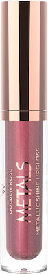 Golden Rose Metals Metallic Shine Lip Gloss 04 Rose Copper