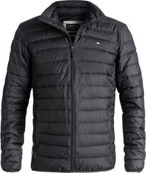Quiksilver Scaly Full Water-Repellent Puffer Jacket Black