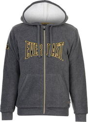 Everlast Polar Fleece Zip Hoody 696004 Charcoal