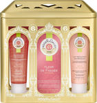 Roger & Gallet Fleur de Figuier Eau de Parfum 50ml, Shower Gel 50ml & Body Lotion 50ml