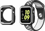 OEM TPU case for Apple Watch 42mm (White/Black)