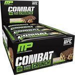 Musclepharm Combat Crunch Bars 12 x 63gr White chocolate raspberry