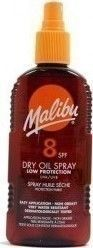 Malibu Dry Oil Spray Low Protection SPF8 200ml