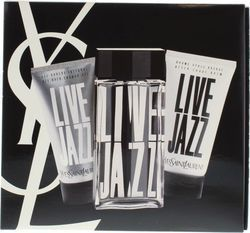 Saint Laurent Jazz Live Eau de Toilette Eau de Toilette 50ml, Aftershave 50ml & Shower Gel 50ml