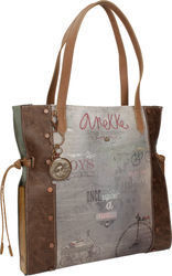 Anekke AN25811-3 Brown / Grey