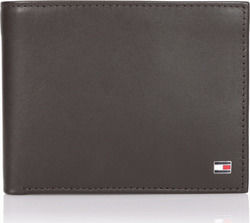 Tommy Hilfiger Signature Stripe Trifold Brown