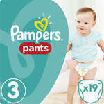 Pampers Pants No 3 (6-11kg) 19τμχ