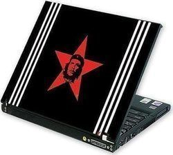 H-863 Laptop Skin Red Star