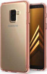 Ringke Fusion Rose Gold (Galaxy A8 2018)