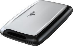 Tru Virtu Card Case Classic Silver Arrow