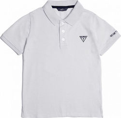 T-SHIRT POLO GUESS KIDS N71P74 K5DS0-A000 ΛΕΥΚΟ