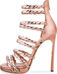Dukas Twist Sandals Treccia Rose Gold 2.DSST - ...