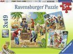 Pirates 3x49pcs (08030) Ravensburger