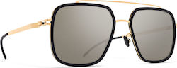 Mykita Reed MH7 Pitch Black / Glossy Gold 1508303