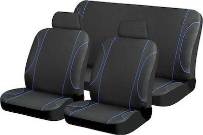 Σετ Καλύμματα Αυτοκινήτου 5τμχ Πολυεστερικό Colour 14142.3 Autoline
