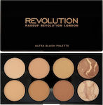 Makeup Revolution Ultra Blush Palette All About Bronze