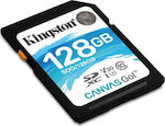 Kingston Canvas Go! SDXC 128GB U3 V30
