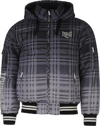 Everlast Hooded Bomber Jacket 606028 Black